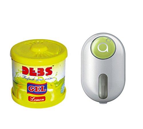 Debonair Combo - Debs 100gm Premium Car/Home/Office Air Freshener Gel - Lemon& Godrej Click 9 ml - Green  available at amazon for Rs.387
