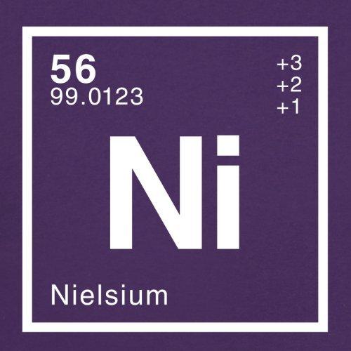 Niels Periodensystem - Herren T-Shirt - 13 Farben Lila