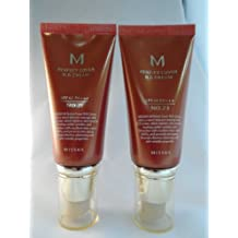 2 x Missha M Perfect Cover BB Cream/Creme Set (No 23 Natural Beige + No 21 Light Beige) 50ml Each