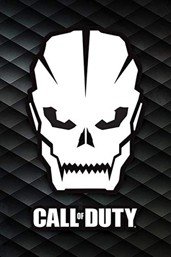 Póster Call of Duty - Skull/Calavera (61cm x 91,5cm)