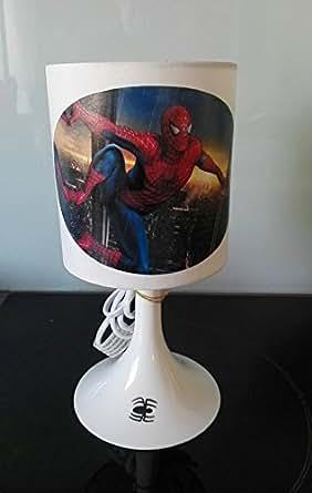 Lampe de chevet ou à poser enfant spiderman