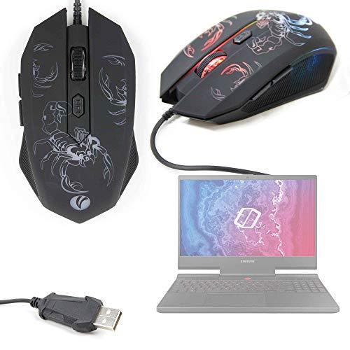 DURAGADGET Maus und Mikrofon für Computer LG Gram 14 2019, LG Gram 17 2019, Samsung Notebook Odyssey (2019)