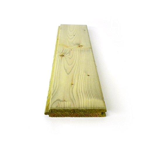 Listón madera pino impregnado autoclave doble uso