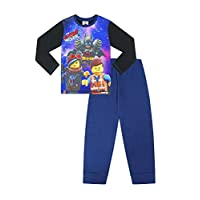 Lego Movie 2 Official Emmet Batman Unikitty Boys Long Pyjamas w19