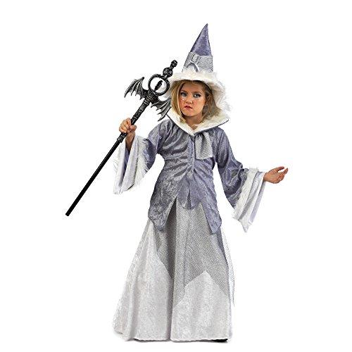 Imagen de limit sport mi781 disfraz de bruja maga abelina para niña, talla 4  7 9 años