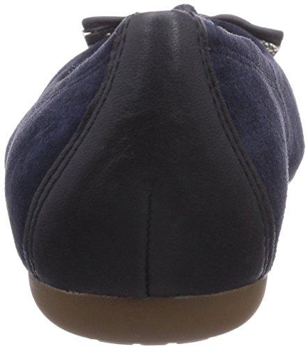 Geox D LOLA A Damen Geschlossene Ballerinas Blau (Navyc4002)