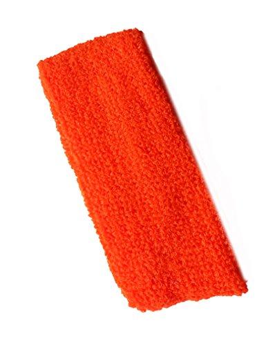 Neon Stirnband Orange (Robert Smith Kostüm)