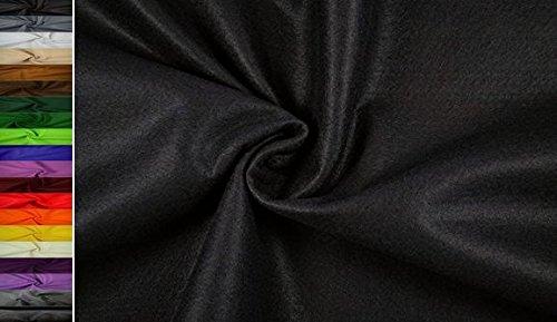 StoffBook 2Mm Dicke Universelle Filzstoffe 180Cm, B495 (schwarz)