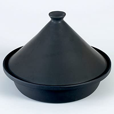Victor Cast Iron 30 Cm Cooking Tagine In Black by Victor Kitchenware