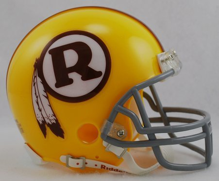 Riddell Washington Redskins NFL Throwback Mini Helmet (70-71)