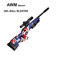 GELRIZTY AWM Gel Ball Blaster - Manual Gel Soil Water Crystal Beads Toy Blaster - AWM Toy Gun Model - Suitable for Cosplay Outdoor Shooting Game