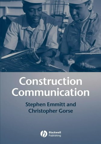 Construction Communication by Stephen Emmitt (2003-04-28)