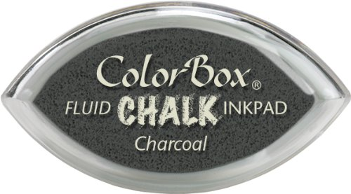 ColorBox Fluid Chalk Cat's Eye Ink Pad-Charcoal