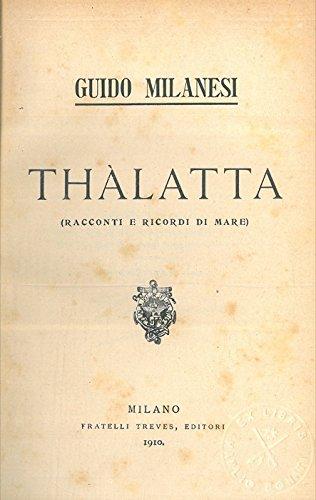 Thalatta (Racconti e ricordi di mare).