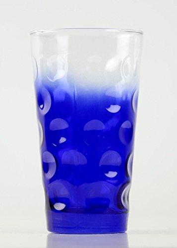 Farbige Dubbegläser - 'Dubbeglas Kobaltblau Dreiviertel' farbiges Schoppenglas - 0,5 Liter