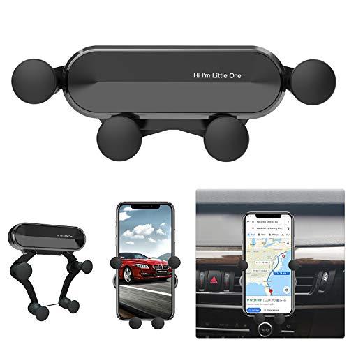 """Ossky Handyhalter fürs Auto, KFZ Handyhalterung Lüftung Handy Halterung Autohalterung Universal für Smartphone 4,7""""- 6,5"""" mit Metall Rahmen"""