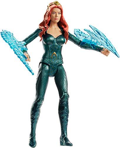 Black Manta Kostüm - Mattel FWX61 DC Aquaman Mera 15 cm Figur, Spielzeug Actionfiguren ab 4 Jahren