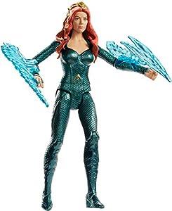 Justice League Figura Mera, 15 cm (Mattel FWX61)