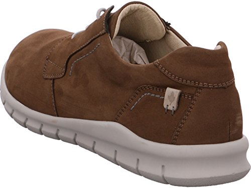 nicolabenson  1630B Country cuoio/cuoio, Chaussures de ville à lacets pour homme Biber