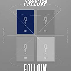 Starship Entertainment Monsta X - Follow-Find You [Versión 1] Album + Pre-Order Benefit + Poster + Extra Photocards Set