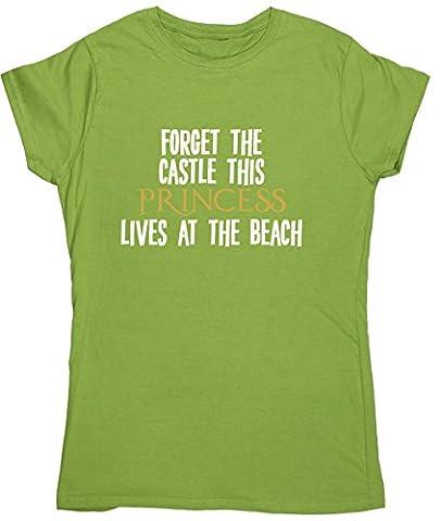 HippoWarehouse - T-shirt - Femme X-Large - vert -