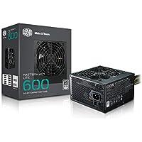 Cooler Master MasterWatt Lite 600 230V Alimentation PC 'Non-modulaire, 80 Plus White, 600W' MPX-6001-ACABW-EU