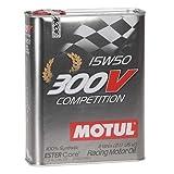 Motul 103920Huile moteur 300V Competition 15W de 50, 5l