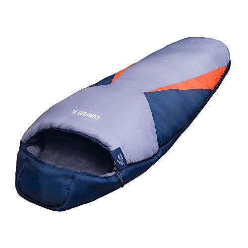 EXPLORER Schlafsack 230x85cm COMFORT XL Mumienschlafsac… | 04011739046807