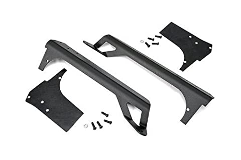 Rough Country - 70503 - 50-inch LED Light Bar Upper Windshield Mounting Brackets (Jeep TJ / LJ - Painted) by Rough Country