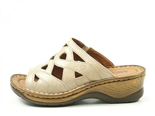 Josef Seibel 56508-6113-200 Catalonia 44 Damen Sandalen Pantoletten Clogs Beige