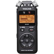Tascam DR-05 Registratore Vocale, Nero + micro SD 4GB omaggio, Versione 2 - Uscita Passa Alto