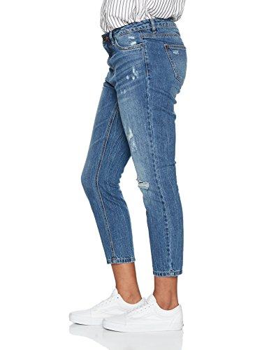 ONLY Damen Boyfriend Jeans Blau (Dark Blue Denim)