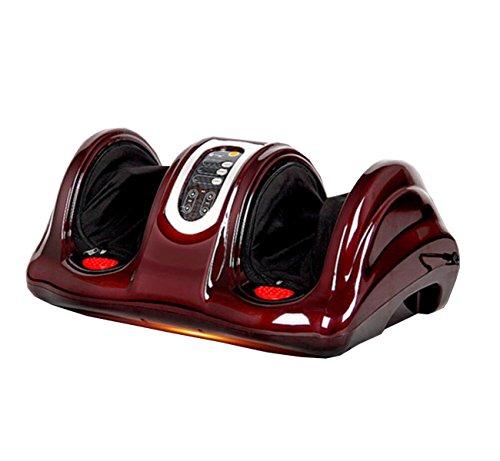 Fußmaschine Fußmassage Kann Beheizt Fernbedienung Herbst Und Winter Elektrische Fußmassage Thanksgiving Geschenk,Red