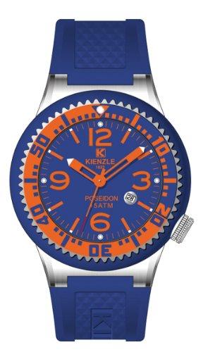 Kienzle 720/3072 - Reloj para Hombre, Correa de Silicona Color Azul