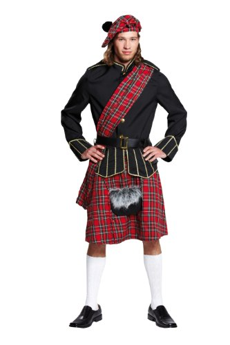 Rubie's 1 4611 56 - Edelschotte Kostüm, Größe 56, (Schotte Kostüm)