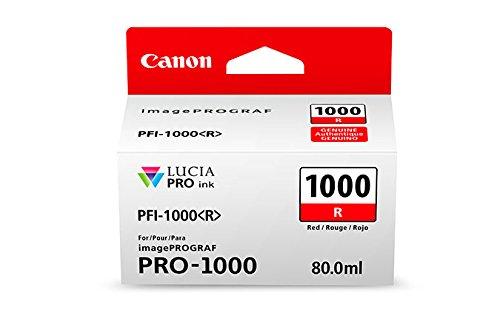 Preisvergleich Produktbild CANON PFI-1000r Tinte rot Standardkapazität 80ml 1er-Pack iPF1000