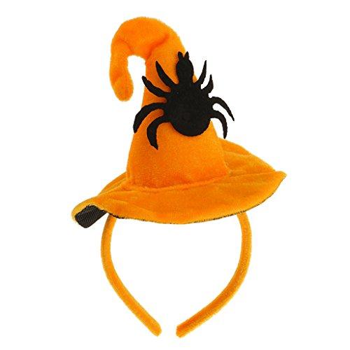 irnband Haarreif Haarband Kopfschmuck für Halloween Party, 3 Stil - Spinne ()