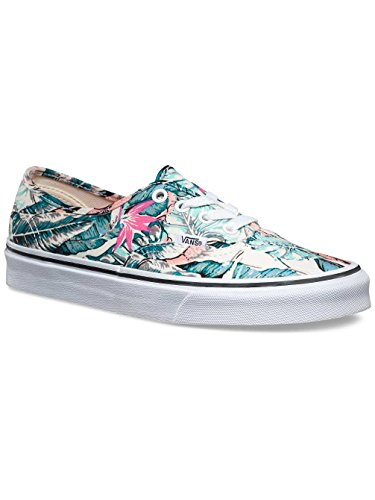VANS - Vans Authentic Scarpe Sportive Donna Tessuto Multicolore VN3B9IKP - Bianco, 40