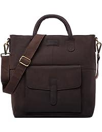 LEABAGS Almada sac bandoulière rétro-vintage en véritable cuir de buffle