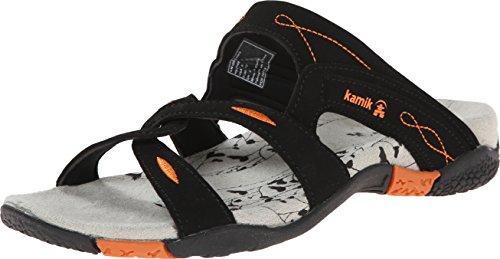Kamik Sandbanks, Chaussures de Claquettes femme Noir - Noir