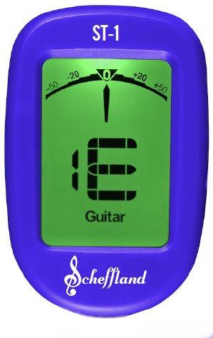Scheffland Music The Scheffy Gitarrenstimmgerät zum Anklemmen