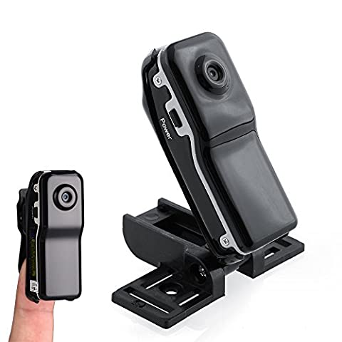 Hidden Mini Camera Sports Spy Camcorder Webcam pour enregistrement vidéo