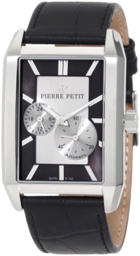 Pierre Petit Men's Automatic Watch Paris P-782A with Leather Strap