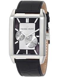Pierre Petit Herren-Armbanduhr Paris Analog Automatik Leder P-782A