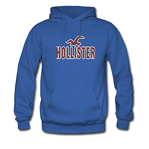 Hollister Hoodies -  Felpa con cappuccio  - Uomo Blue Small