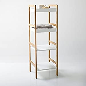 La Redoute Interieurs Lindus 4-Shelf Bathroom Unit