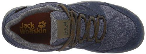 Jack Wolfskin Vancouver Texapore Low M, Chaussures de Randonnée Basses Homme Bleu (Night Blue 1010)