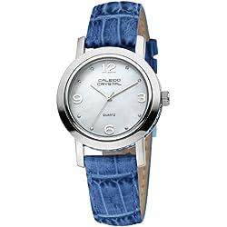 Caleido Crystal Damen-Armbanduhr Analog Quarz CAC-07