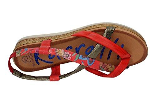 KARRALLI Donna sandali Corallo