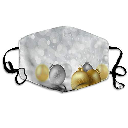 Wrution, cartolina di auguri natalizia, immagine vector in cotone, maschera respirante comoda, riutilizzabile, per uomini e donne